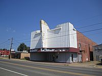 Abandoned theater in Rayville, LA IMG 0169