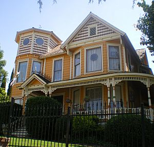 C.W. Harvey Home, Whittier