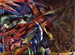 Franz Marc-The fate of the animals-1913