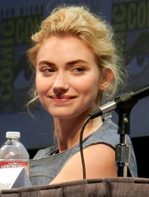 Poots at the 2011 San Diego Comic-Con