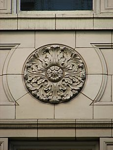 Kress Building detail - Portland Oregon
