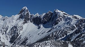 Mount Triumph and Thornton Peak