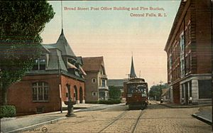 Post Office and Fire Station, Central Falls, RI