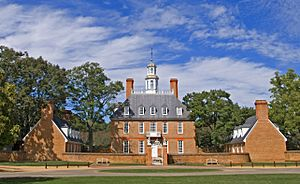 The Governor's Palace -- Williamsburg (VA) September 2012