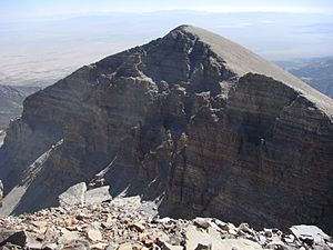View of Jeff Davis Peak from Wheeler Peak