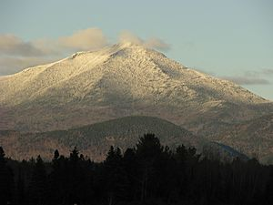 Whiteface Mountain from Lake Placid Airport
