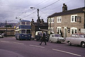 Clayton - Trolley-bus on route 37 - geograph.org.uk - 368572