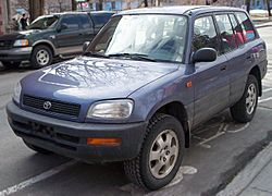 Early Toyota RAV4 - JD