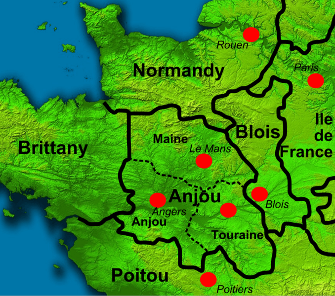 North West France 1150