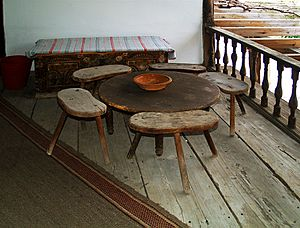 Old-table-and-chairs