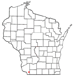Location of Smelser, Wisconsin