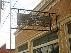 XIT Museum sign IMG 0561