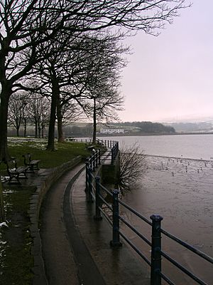 'Promenade' by Hollingworth Lake - geograph.org.uk - 1720854