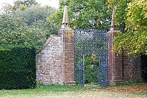 Gateway to East of South Lawn of Barrington Court