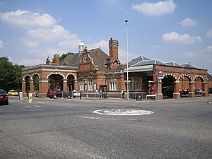 Hertford East railway station - geograph.org.uk - 208092