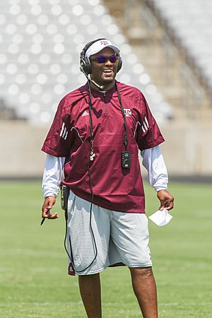 Kevin Sumlin, Head Football Coach, Texas A&M Univerity