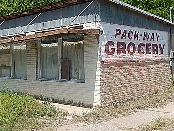 Pack-Way Grocery, U.S. 277, TX DSCN1441