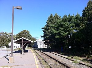 Railroad station, Sandwich, Massachusetts