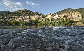 Roquebrun and Orb River 02