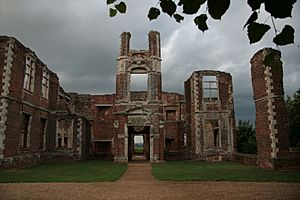Ruin of Houghton House