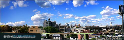 South Brooklyn from Gowanus Expressway