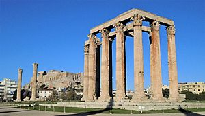Temple of Olympian Zeus (Dec. 2016)