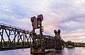 BNSF Lift Bridge - Prescott, Wisconsin (29712828551)