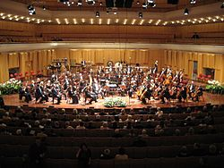 Estonian National Symphony Orchestra (ERSO) in Stockholm, 2008