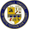 Official seal of Fayetteville, Tennessee