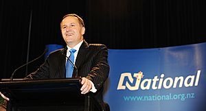 John Key victory speech 1