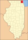 Lake County Illinois 1839