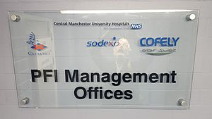 PFI Office Central Manchester University Hospitals NHS Foundation Trust