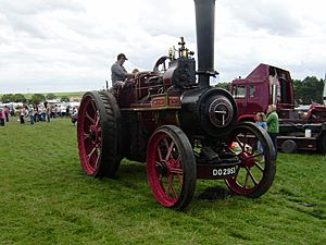 Ruston and Hornsby steam tractor sn 115100 of 1922