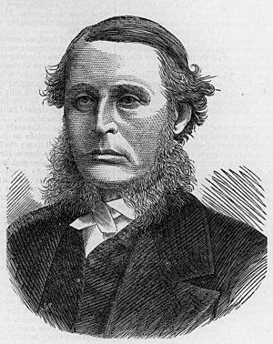 Sir James Cockle, first Chief Justice of Queensland, 1876