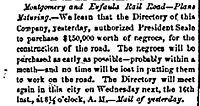 1859.11.10.daily.confederation.article.about.purchase.of.slaves.to.build.montgomery.eufaula.railroad