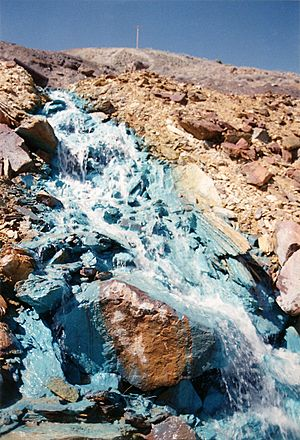 Blue stream - Jerome, Arizona