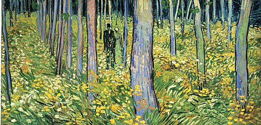 Vincent van Gogh - Undergrowth with Two Figures (F773)