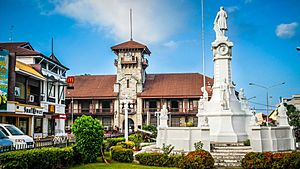ZAMBOANGA CITY Asia's Latin City City Hall and Plaza Rizal (Ayunamiento y Plaza Rizal)