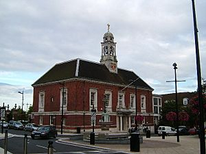 Braintree Town Hall Centre, Fairfield Road, Braintree - geograph.org.uk - 59709