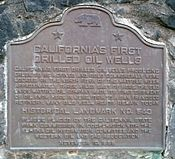 California Historical Landmark543 Petrolia FirstOilWells