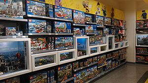 Lego Sets In Store Leicester Square London United Kingdom