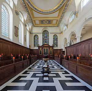 St Vedast Foster Lane Church Interior 1, London, UK - Diliff