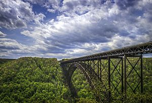 View of New River Gorge Bridge