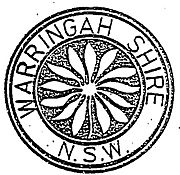 First Warringah Shire seal