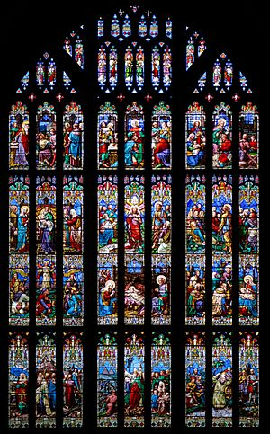 Gloucester Cathedral - Stained window 6