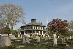 House in Riverside Cemetery