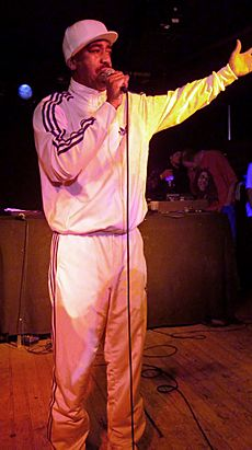 Kurtis Blow im Musiktheater Bad (Hannover, Germany), 2012-03-30