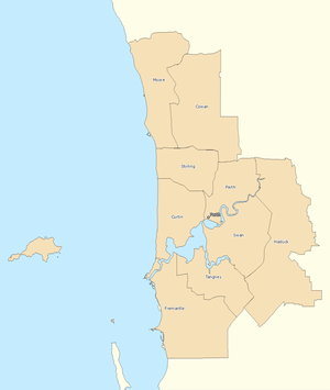 Perth divisions overview 2010