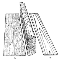 Plain quarter sawn