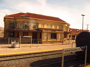 Amtrak station in Grand Junction, CO